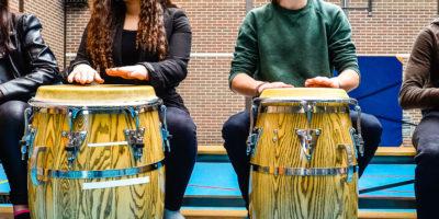 Kunsteducatie Nederland Afro Cubaanse percussie 1