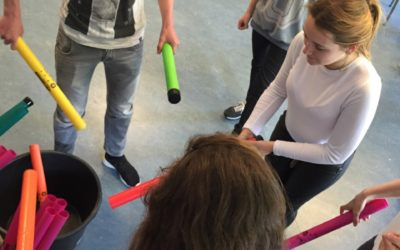 Kunsteducatie Nederland Workshop Boomwhackers 1