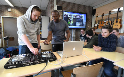 Kunsteducatie Nederland Workshop DJ 2