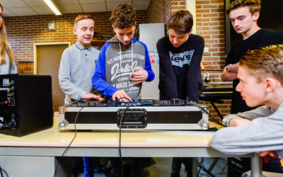 Kunsteducatie Nederland Workshop DJ 3