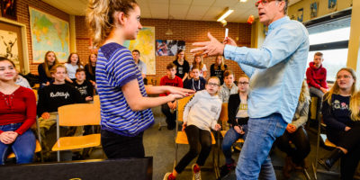Kunsteducatie Nederland Workshop Goochelen 5