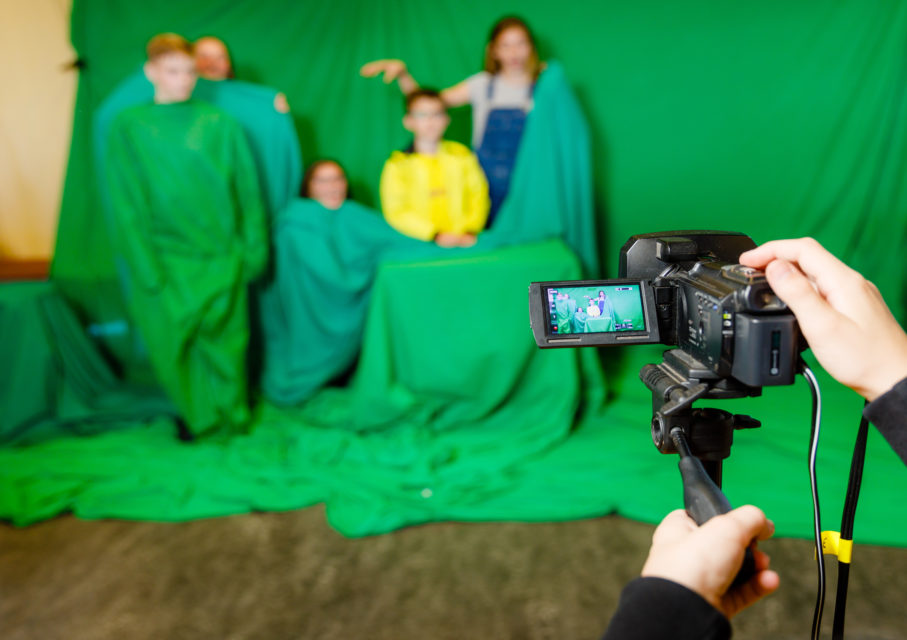 Kunsteducatie Nederland Workshop Green Screen 2