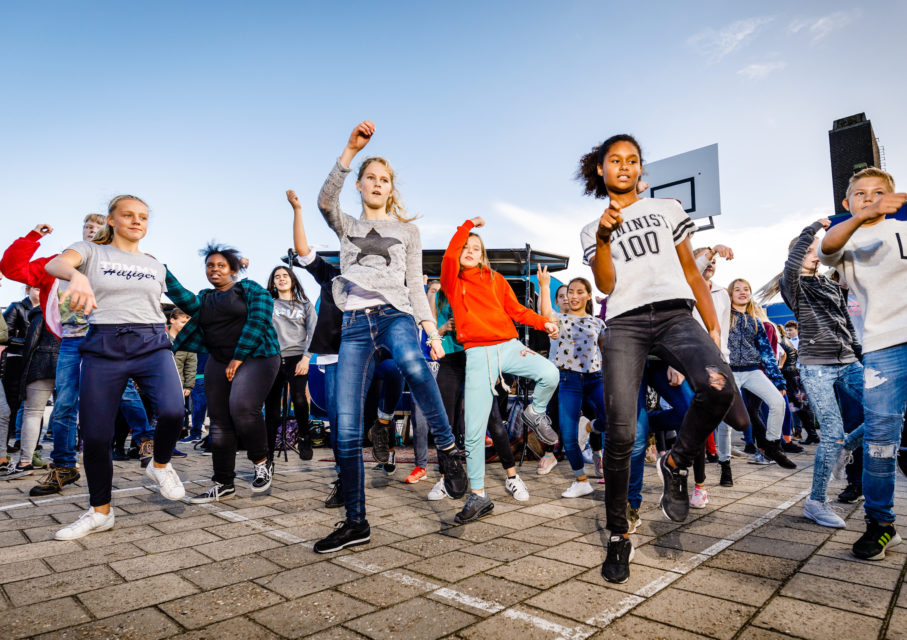 Kunsteducatie Nederland Project Flashmob