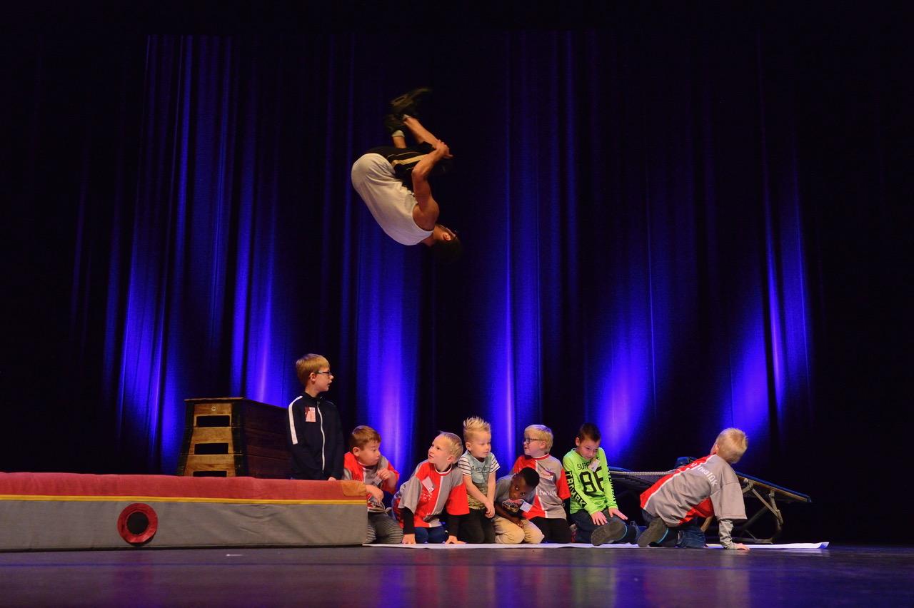 Stunts SOTIVAL festival speciaal onderwijs