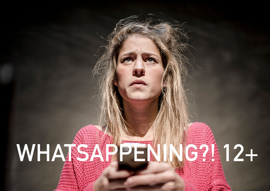 Voorstelling Whatsappening?! over cyberpesten (digitaal pesten)