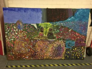 Kunstwerk leerlingen Jij & Ik