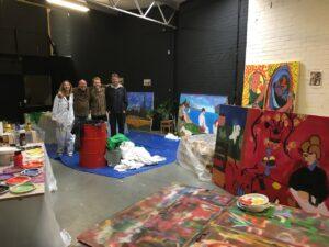 Kunstenaars Workshopleiders