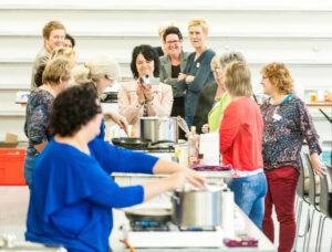 Workshop koken voor werknemers